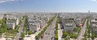 Panorama Paris - Champs-Elysées
