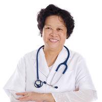 Asian female medical doctor