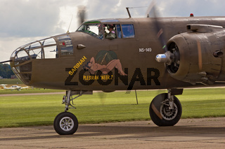 UK Duxford Mitchell B-25 Aircraft