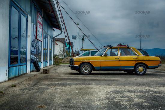 Werkstatt in Rumänien