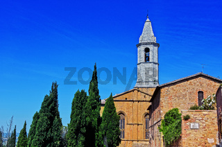 City of Pienza in Tuscany