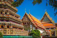 Grand Palace complex in Bangkok