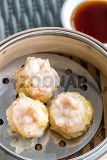Chinese dim sum Shumai