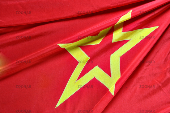 Part of USSR flag