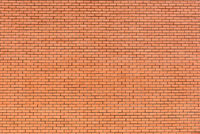 Orange Backsteinwand