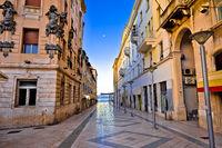 City of Split architecture view in Marmontova street
