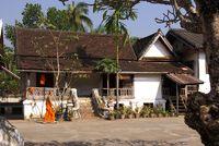 Mönch im Tempel Sop-Sickharam