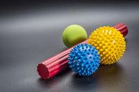 self massage and reflexology therapy balls