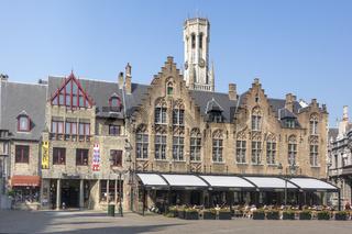 Restaurant In The Old Town Bruges Belgium