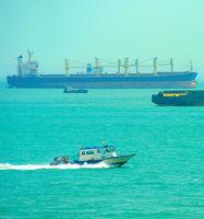 Singapore industrial harbor