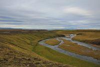 River near Skagastroend, Iceland.