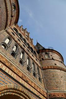 Lübeck, das Holstentor