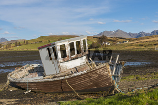 Old Shipwreck Scotland