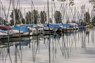 Jachthafen bei Konstanz, Bodensee