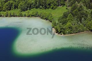 Lac Le Grand Maclu, Jura, Franche-Comté, France