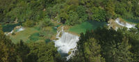 Krka Waterfall Panorama