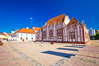 Baroque architecture of Cakovec main square
