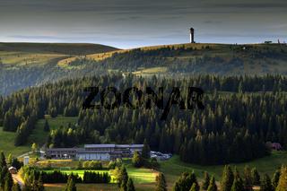 Blick vom Herzogenhorn zum Feldbergmassiv