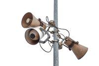 Old Rusty Speakers
