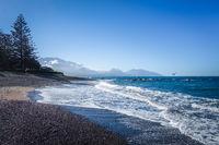 Kaikoura beach, New Zealand