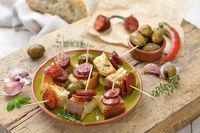 Spanische Chorizo-Häppchen