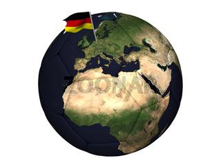 Deutschland spielt Fussball