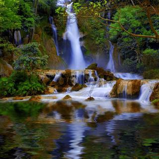 Luang Prabang waterfalls