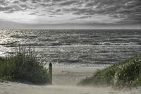 stürmische Ostsee Fischland