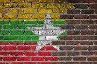 Brick wall texture - Flag of XXXX