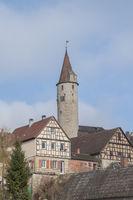 Torturm in Kirchberg an der Jagst