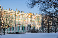 Side facade of the Winter Palace