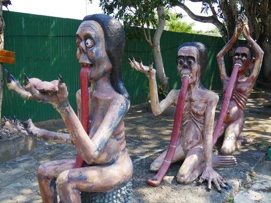Buddhistischer Tempel Wang Saen Suk (Hell Garden),Bang Saen,Chonburi,Thailand