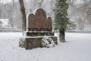Juedischer Friedhof in Schwaebisch Hall-Steinbach