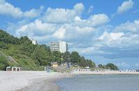 Strand in Sierksdorf an der Ostsee,Schleswig-Holstein,Deutschland