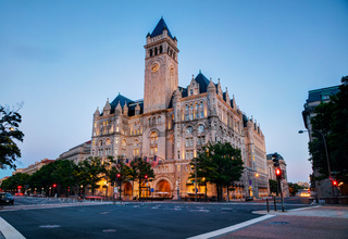 Old post office building in Washington, DC