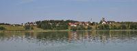 Summer day at lake Pfaffikon.