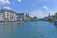 Zurich, Lake View, Switzerland, Europe