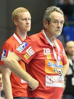 Cheftrainer Dr. Rolf Brack (Frisch Auf Göppingen) Spiel SC Magdeburg-Frisch Auf Göppingen 22.2.18