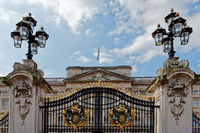 London.  Buckingham-Palast.