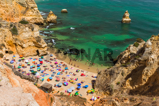 Beach in Lagos - Algarve Portugal