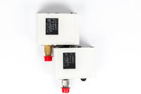 Two new identical pressure switches in the pipeline for monitoring and balancing the pipeline pressure with mechanical displays.