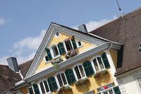 Gelbes Fachwerkhaus in Ludwigsburg