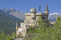 Burgidylle bei Seefeld in Tirol