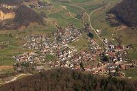Rothenfluh Kanton Basel-Landschaft Schweiz Gemeinde Luftbild