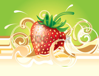 Stawberry and cream