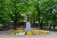 Kikinda town statue