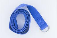 isolated yoga strap