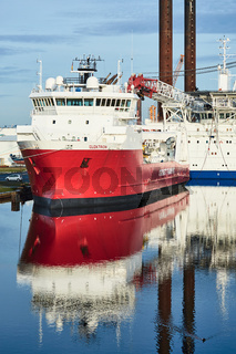 Offshore-Versorgungsschiff 'Elektron'