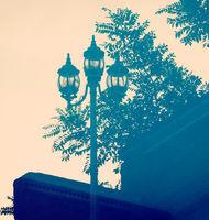 Street Lamp Reflection