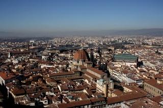 Florenz, Panoramablick vom Duomo